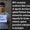 The Court of Appeal upheld the verdict to blogger Mehman Huseynov