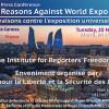Conférence de presse: 10 raisons contre l'exposition universelle 2025 Bakou