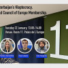 Side Event: Azerbaijan's Kleptocracy, Repression and Council of Europe Membership