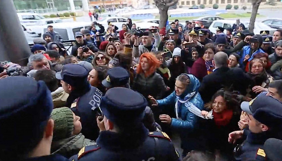 EVEN ON THE INTERNATIONAL WOMEN'S DAY, AZERBAIJANI AUTORITIES HAVE PROVEN ONCE AGAIN THAT THEY WILL NOT END THE VIOLENCE